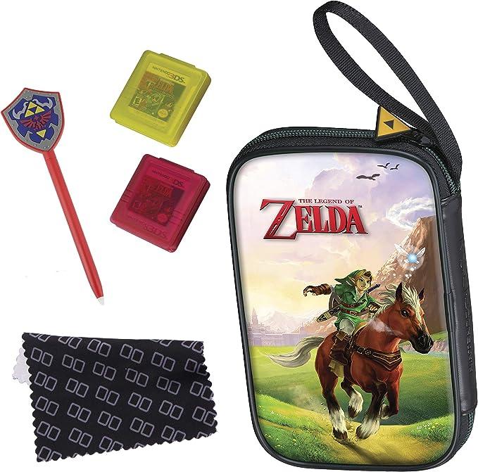 Full Pack BigBen Zelda (versch. Motive) new 3DS, new 3DS XLTasche [Importación alemana]: Amazon.es: Videojuegos