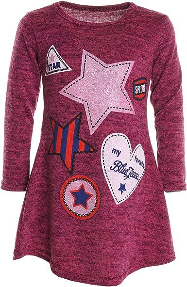 BEZLIT - Blusa - Camisa - Paisley - Cuello redondo - Manga Larga - para niña rosa 14 Years: Amazon.es: Ropa y accesorios
