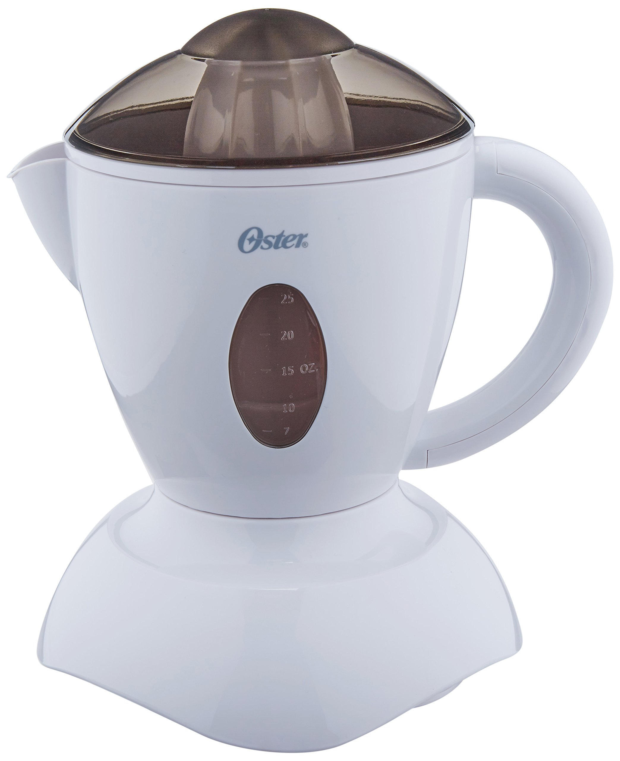 Oster 3186 Juice-n-Serve 27-Ounce Automatic Citrus Juicer, White by Oster (Image #1)