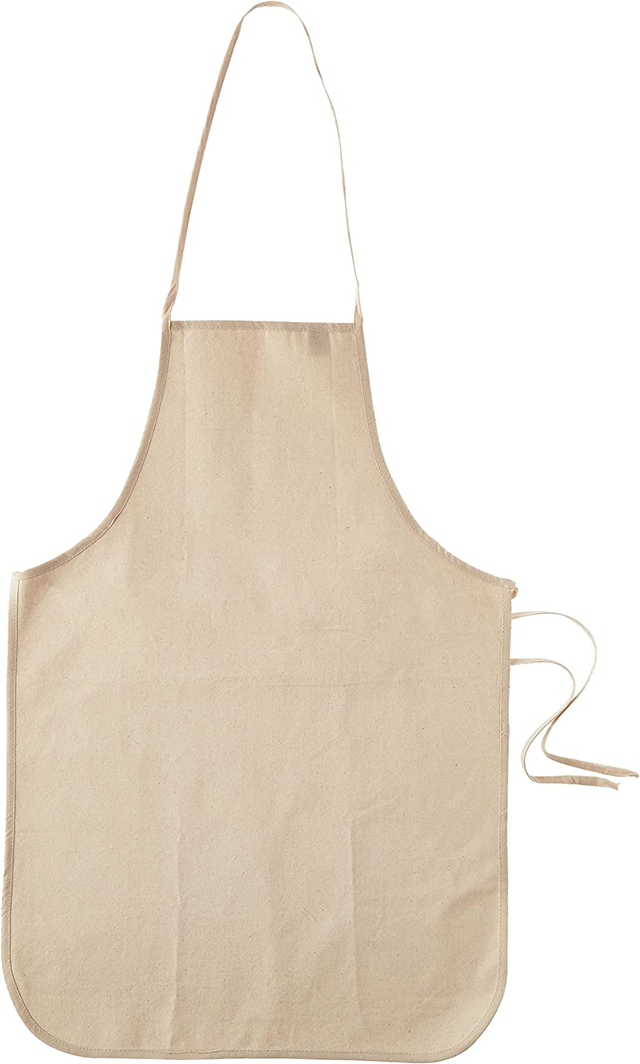 Mark Richards Wear'm Cotton Adult Apron, 19 by 28-Inch, Natural: Arts, Crafts & Sewing