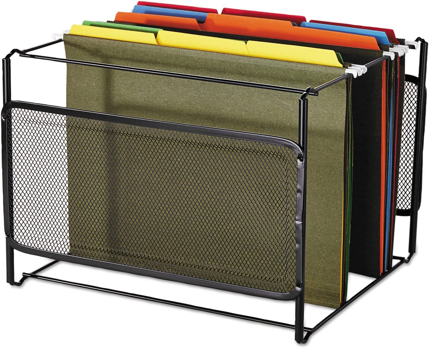 Wire ELDON Office Products 22191 Letter Size Mesh File Frame Holder Black 12 3//8 x 11 3//8 x 9 5//8
