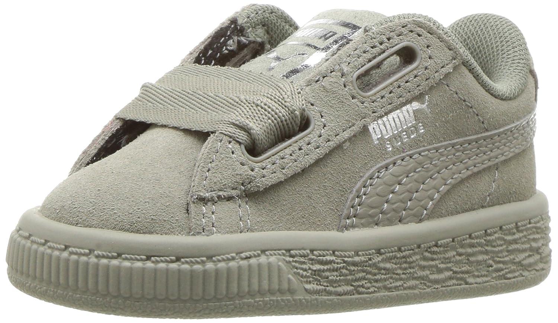 wholesale dealer 9cea5 77c87 PUMA Kids' Suede Heart SNK Sneaker