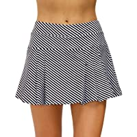 STYLEZONE Women's Active Athletic Sports Skort Skirts for Running Tennis Golf Workout Skirt with Pockets