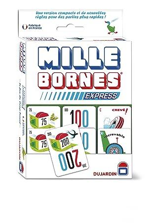 Dujardin 59046 1000 Bornes Express - Juego de Cartas (Contenido en francés)