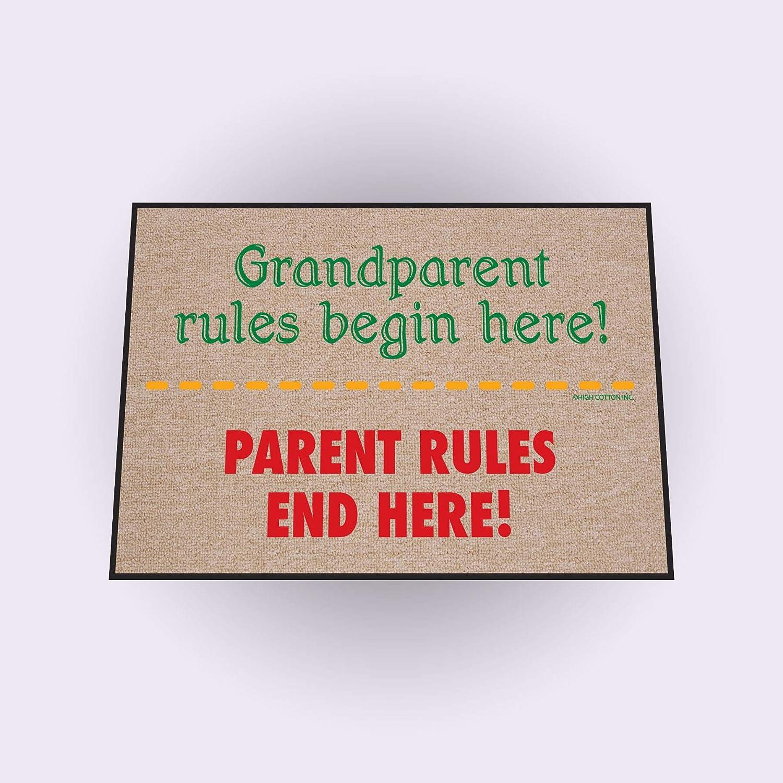 High Cotton Outdoor Mat Grandparent Rules
