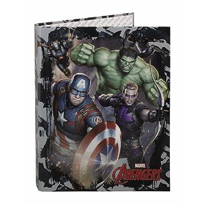 Avengers- Marvel Carpeta Folio 4 Anillas Mixtas (SAFTA 511734067): Juguetes y juegos