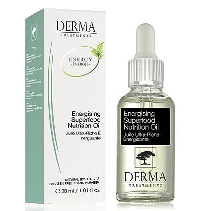 Anti Envejecimiento Super alimento Nutrición Premium Energizante Facial infusión de aceite con aceite de rosa Otto