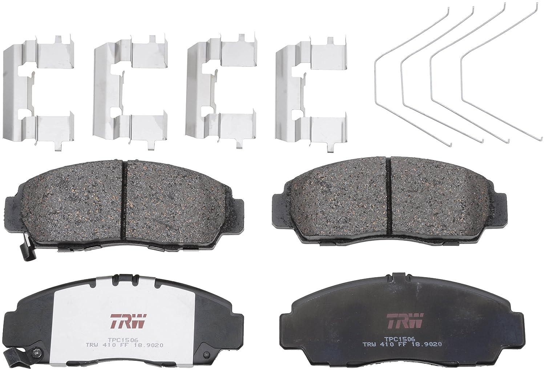 TRW TPC1506 Premium Ceramic Front Disc Brake Pad Set TRW Automotive