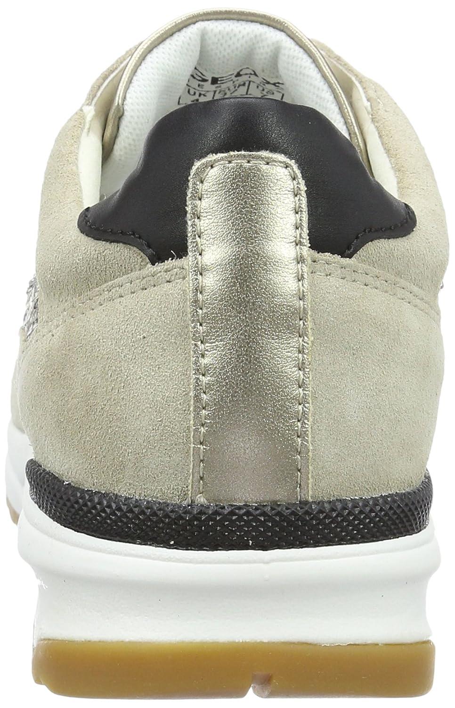 Geox Damen D Airell C Taupec6738) Sneakers Beige (Lt Taupec6738) C a86761