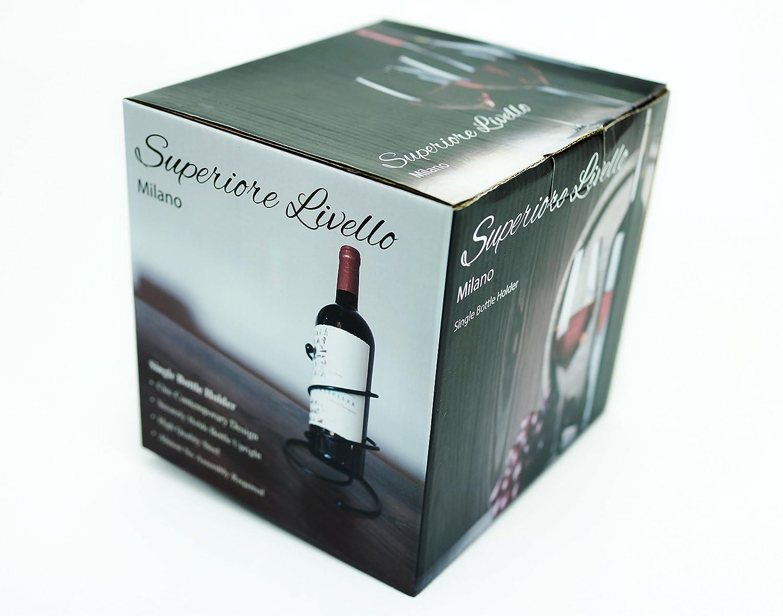Amazon.com: Superiore Livello Milano Single Spiral Wine Rack ...