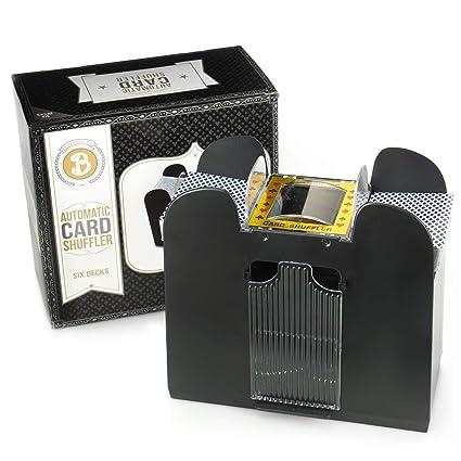 Amazon.com: Brybelly barajador de cartas automático ...