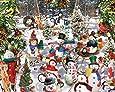 White Mountain Puzzles Snowmen - 1000 Piece Jigsaw Puzzle