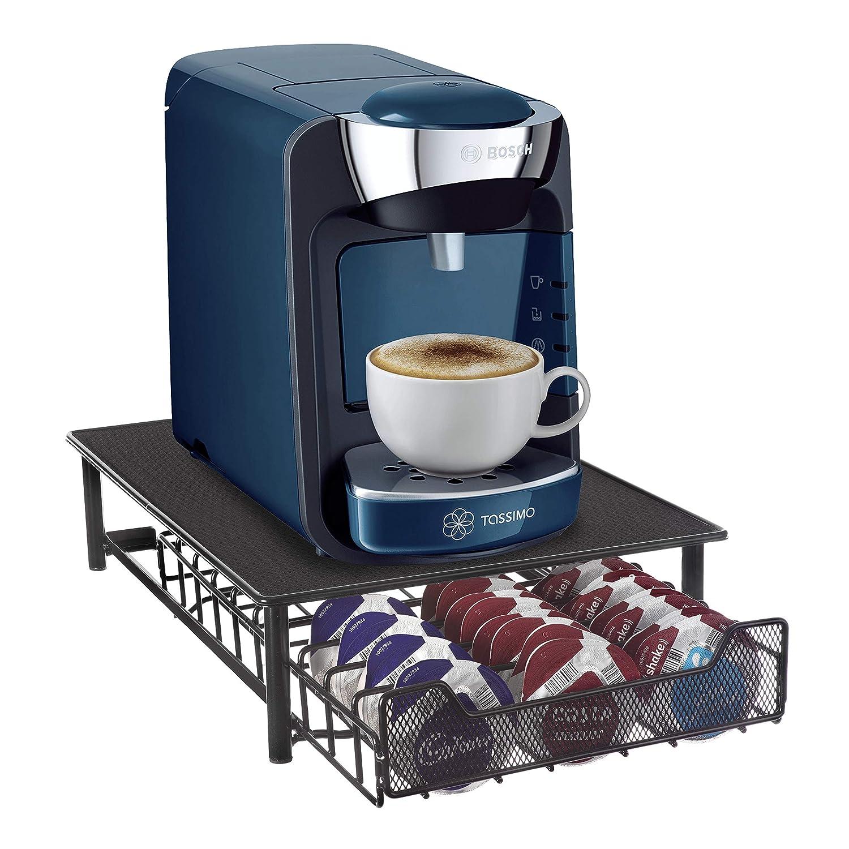 Café Capsulas Dispensador de Homiso | Tassimo compatibles | 60 Capsulas porta: Amazon.es: Hogar