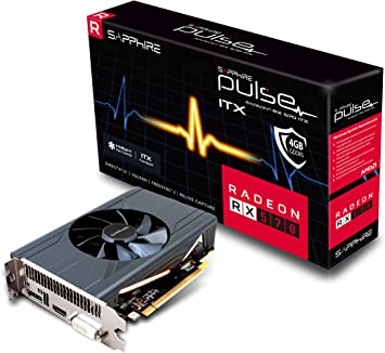 Amazon.com: Sapphire Pulse Radeon RX 570 ITX 4GB, 11266-34 ...