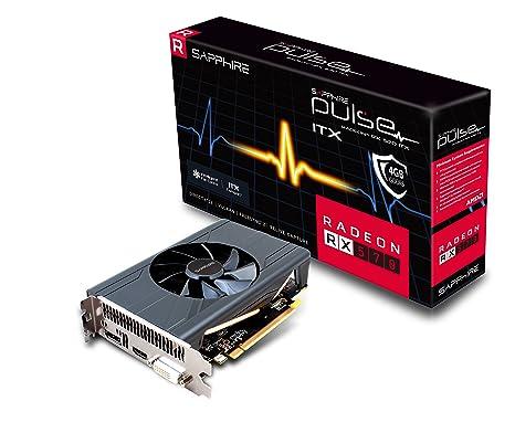 Sapphire 11266-34-20G Radeon RX 570 4GB GDDR5 - Tarjeta gráfica (Radeon RX 570, 4 GB, GDDR5, 256 bit, 5120 x 2880 Pixeles, PCI Express 3.0)
