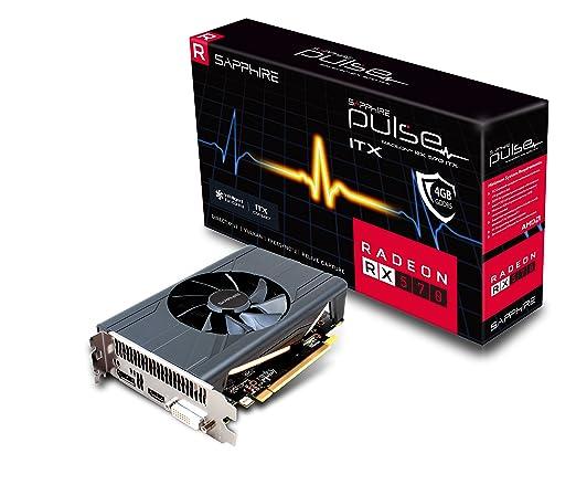 2 opinioni per Sapphire Radeon RX 570 Pulse Itx Scheda Grafica da 4 GB, GDDR5, Grigio