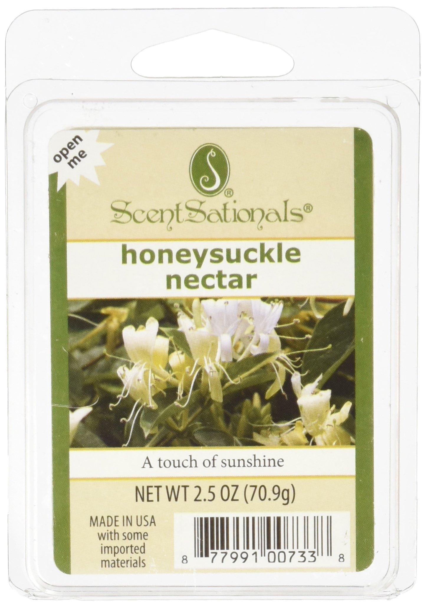 ScentSationals Honeysuckle Nectar Wax Cubes