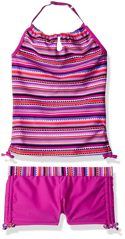 6ba4c1875d44c Free Country Girls' Crochet Print Halter Tankini Set 2041762 ...