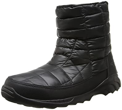 The North Face Thermoball Bootie II Mens Shiny TNF Black/TNF Black 13