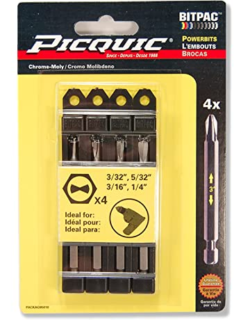 PICQUIC 95010 Clutch Set 3/32, 5/32, 3/16,