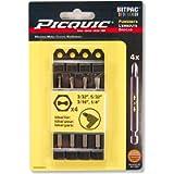 PICQUIC 95010 Clutch Set 3/32, 5/32, 3/16, 1/4'