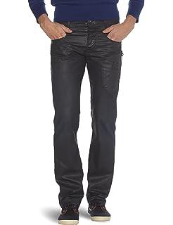 DIESEL - Jean - Homme - Jean Slim Skinny Noir Enduit Sleenker pour ... fffa1b1ef85a