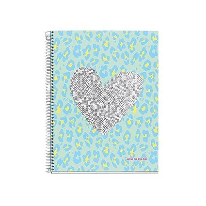 Agatha Ruiz de la Prada 48070 - Notebook 4 cartón piel ...