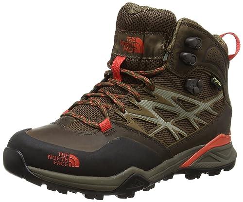 The North Face Hedgehog Hike Mid GTX, Botas de Senderismo para Mujer, Marrón (Brown) 36 EU: Amazon.es: Zapatos y complementos