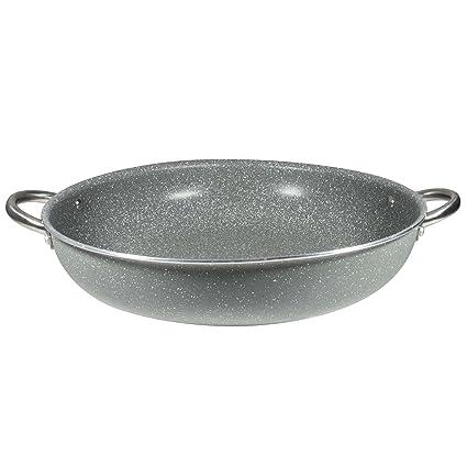 Bergner Masterpro Prochef Visanni Cacerola Baja, Aluminio, Gris, 36 cm
