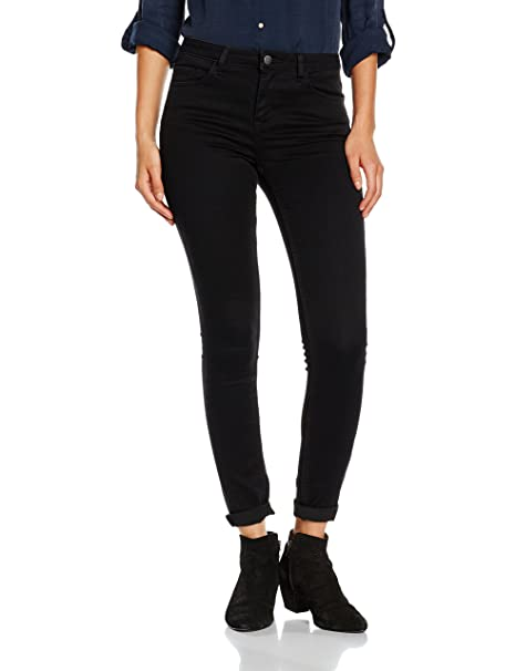 PIECES Pcfive Betty Jeggings Blk/noos, Jeans Mujer: Amazon ...