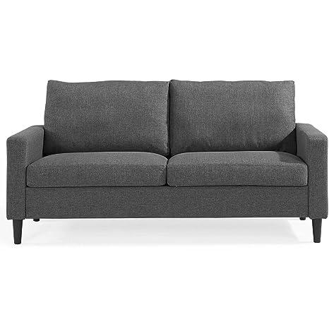 Amazon.com: Comfortable Cozy Modern and Retro Style Sofa ...