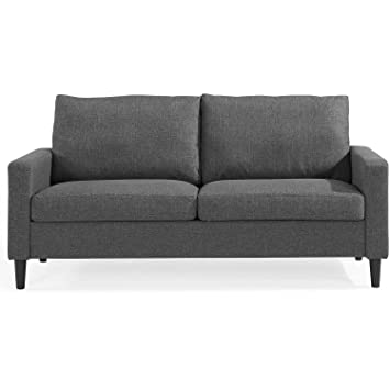 Amazon Com Comfortable Cozy Modern And Retro Style Sofa Living Room