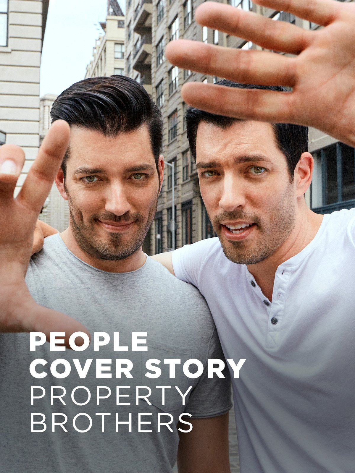 People Cover Story: Property Brothers on Amazon Prime Video UK
