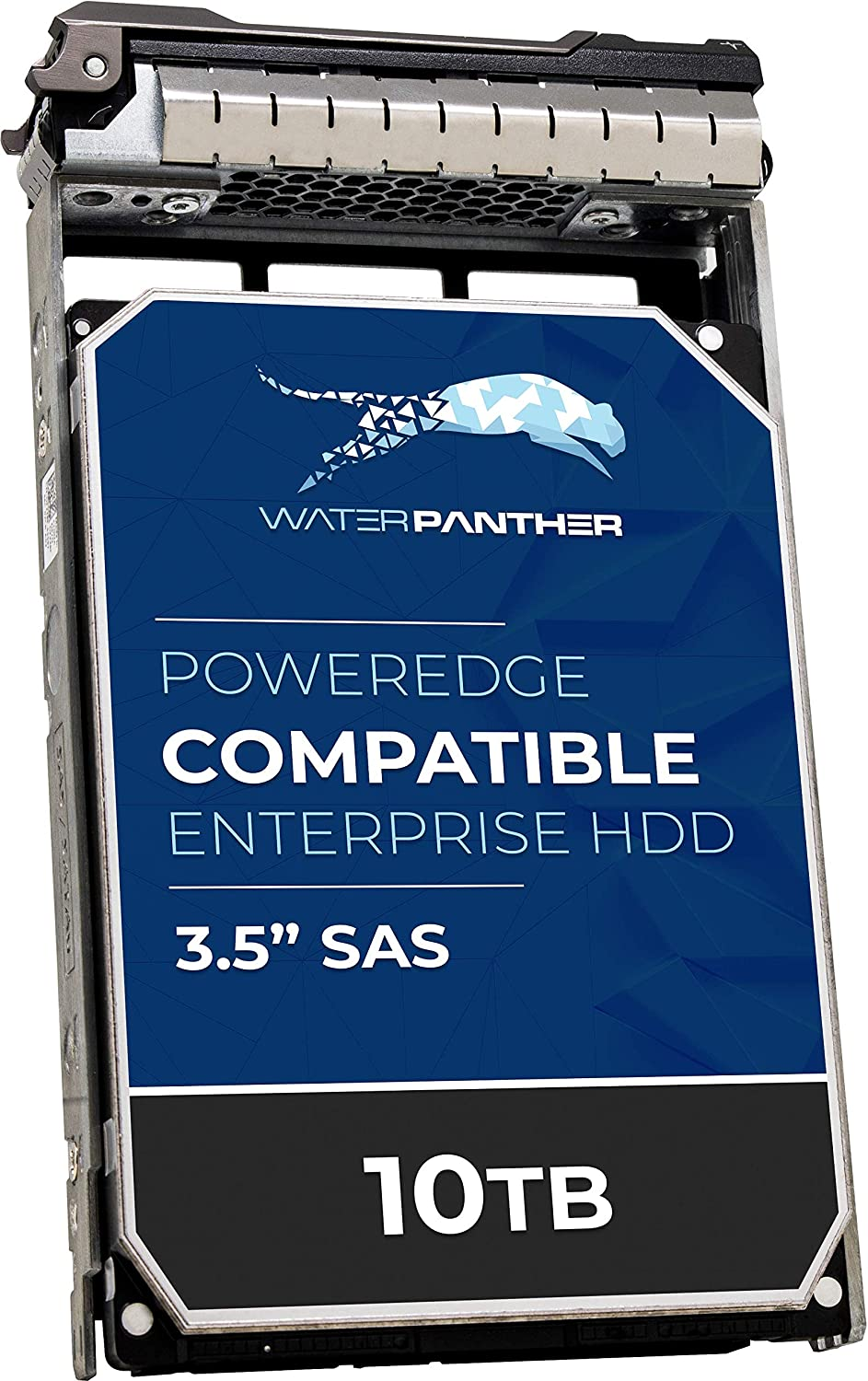 """10TB SAS 12Gb/s 512e 7.2K RPM 3.5"""" HDD for Dell PowerEdge Server 
