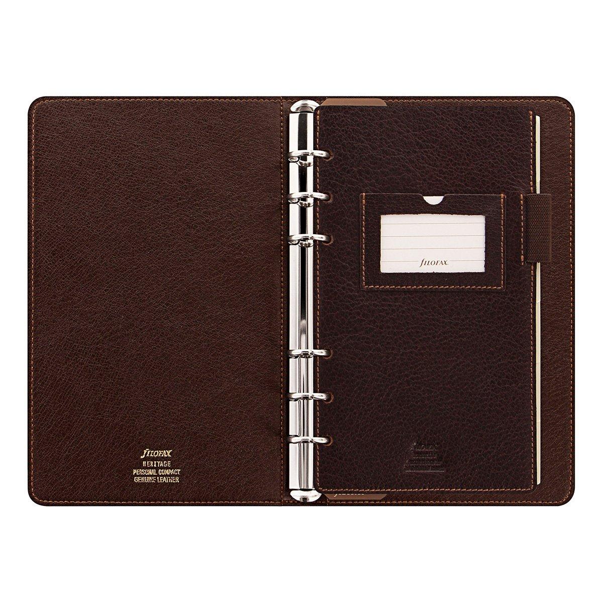Filofax Leder Organiser Terminplaner Heritage personal compact braun B01LNP5JB0 B01LNP5JB0 B01LNP5JB0 | New Style  56520d