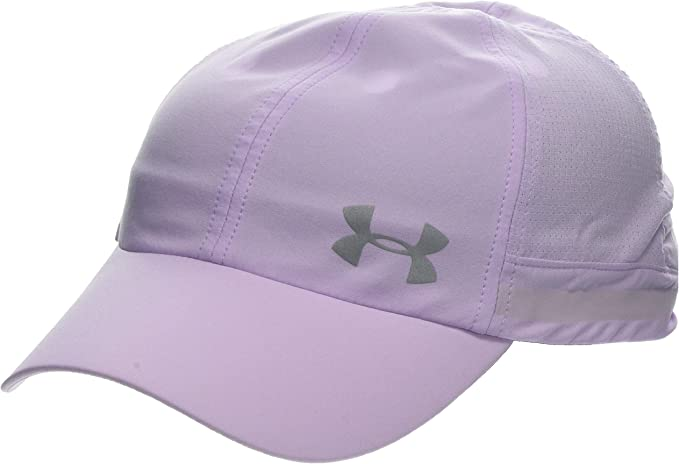 Under Armour UA Fly by Cap Gorra, Mujer, Morado (Purple Ace ...