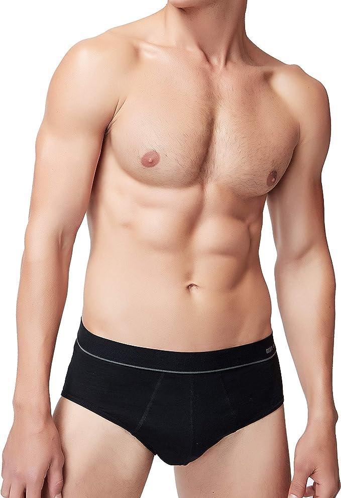 Men's Cotton Stretch Brief Basic Slip