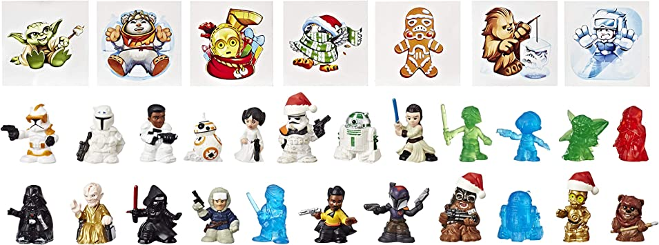 Multi-couleur Hasbro Star Wars Star Wars Micro Force advent calendar
