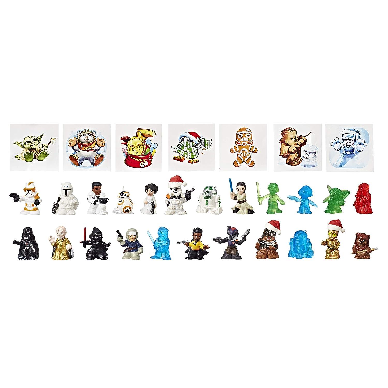 Multi-couleur Hasbro Star Wars Star Wars Micro Force advent calendar