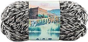 Lion Brand Yarn 135-216 Hometown Yarn, One Size, Anchorage Ice