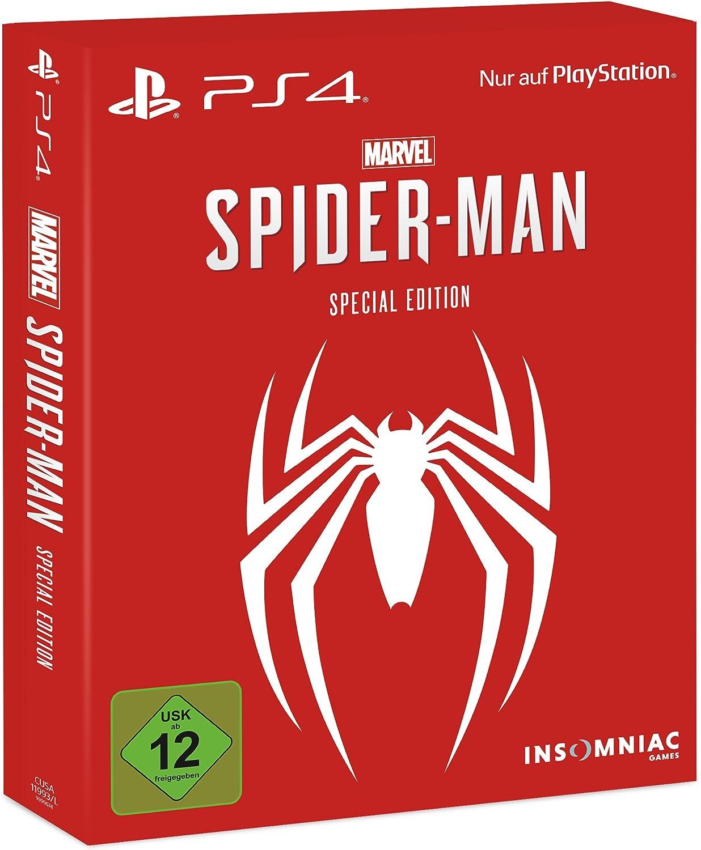Marvels Spider-Man - Special Edition - PlayStation 4 [Importación alemana]: Amazon.es: Videojuegos