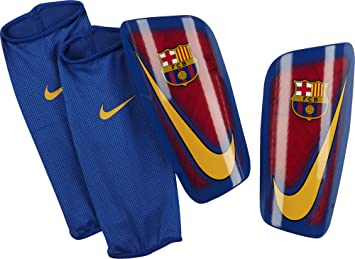 Nike Mercurial Lite-Fc Barcelona Espinilleras, Unisex adulto, Rojo (Prime Red/Game Royal/University Gold), M
