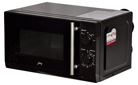 Godrej 20 L Solo Microwave Oven (GMX 20SA2, Black) Microwave Ovens at amazon