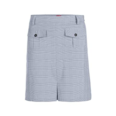 Xfore Falda-pantalón de Golf a Cuadros Tech Grays para Mujer, en ...