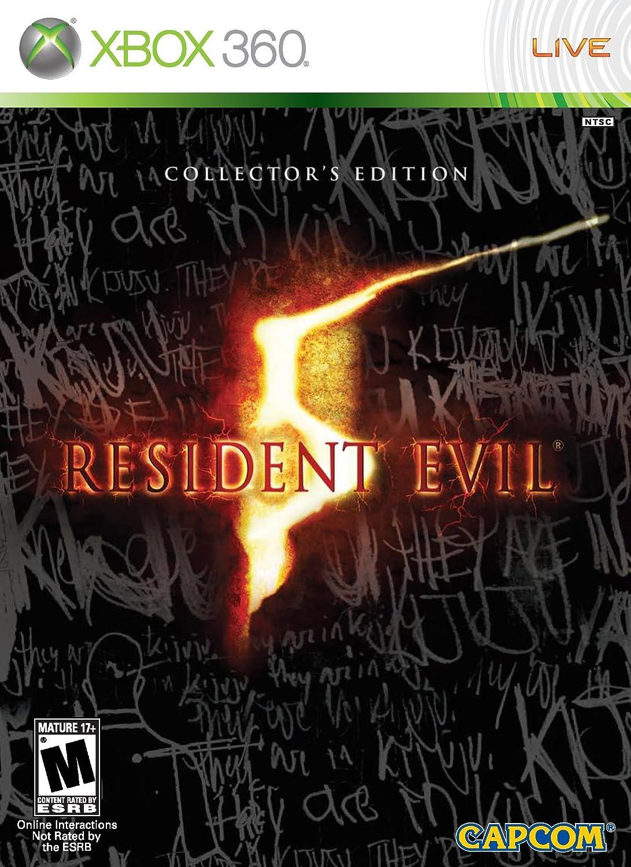 resident evil 5 ps4 box art