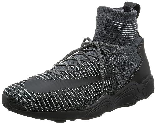 Nike Zoom Mercurial XI FK, Scarpe da Ginnastica Uomo, Grigio (Dark Grey/