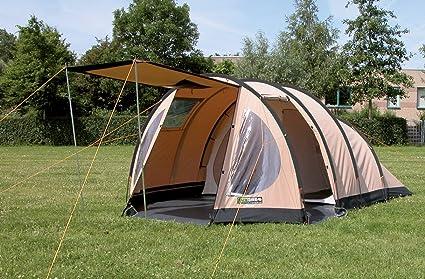 Eurotrail Puede Camping Tienda de campaña Tipo túnel Miami, 22309: Amazon.es: Coche y moto