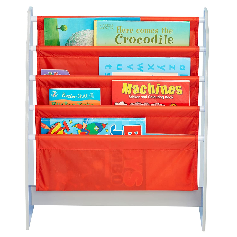 Biblioth/èque /à pochettes pour enfants Pyjamasques Rangement de livres pour chambre d/'enfant
