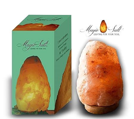 2-3KG ZIYIUI Prime Quality 100/% Original Himalayan Crystal Rock Sal L/ámpara Natural Crystal Rock Salt LAMP EU Plug-Wired