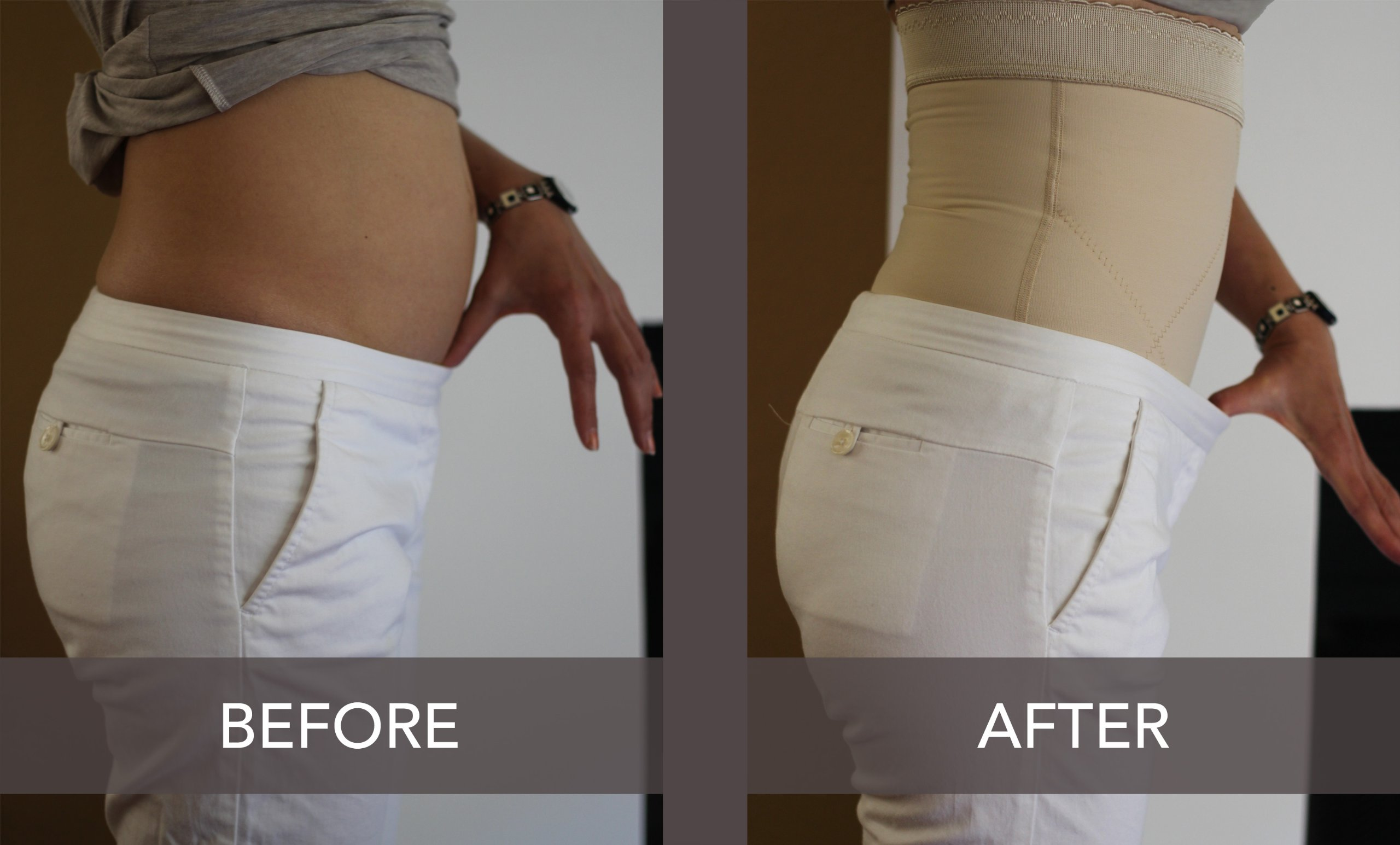 Wink Post-pregnancy Belly Compression Postpartum Girdle (Pull on style) - XL by Wink (Image #4)